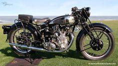 Vintage 1935 Vincent HRD 500cc Comet Motorcycle
