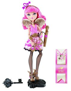 Ever After High C.A. Cupid Doll #ShopBirlings  Ever After High C.A. Cupid Doll: Start a new chapter with Ever After High, where the teenage sons and daughters of famous fairytales decide whether or not to follow in their parents' fabled footsteps. C.A. Cupid, daughter of Eros from Mount Olympus, transferred from her old school to help both royals and rebels find what's in their true hearts.