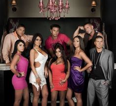 Jersey Shore Cast - Had To Include 1 Picture Since It Took Place In Seaside