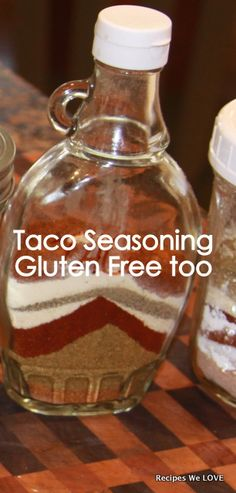 Make your own TACO SEASONING... GLuten Free, Know what you are eating and NO MSG!