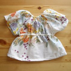 Heart pattern free download (baby clothes tunic smock) - handmade (Handicraft & Gourmet new mother)