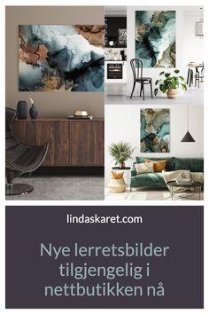 #lerretsbilder #canvasart #artprints #scandinaviandesign #modernekunst #abstractart Living Room Interior, Nye, Scandinavian Design, Abstract Art, Canvas Art, Tapestry, Art Prints, Painting, Beautiful