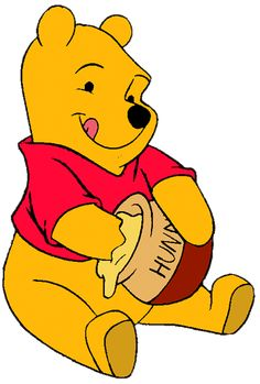 Image result for winnie the pooh with honey