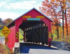 Saville Covered Bridge, Pennsylvania jigsaw puzzle in Bridges puzzles on TheJigsawPuzzles.com