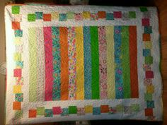 I made this quilt for my daughter.