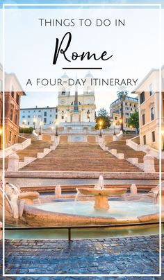 I love, love Rome and can't stop going back - in fact, it's my most visited foreign city! From the city's enchanting narrow streets, beautiful Piazzas, and ancient ruins, you would have a hard time finding a more charming city. After several trips to Rome