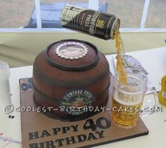 Anti-Gravity Cake - this is awesome!