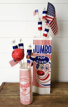 Wine Cork Firecrackers & more 4th of July crafts