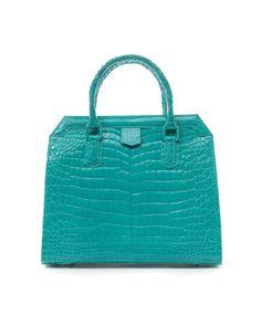 Ethan K Stefanie Crocodile Bag