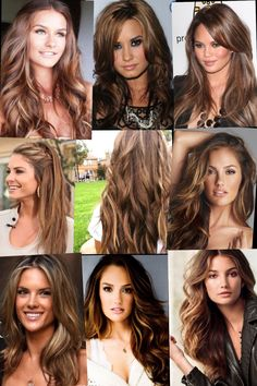 Highlights, lowlights and sun-kissed hair... and a personal stylist would help