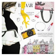 """Harper's Bazaar"" by metisu-fashion ❤ liked on Polyvore featuring art"