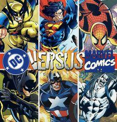 Marvel+vs+DC+Comics | Episode #79: Retro Review – DC vs. Marvel Comics