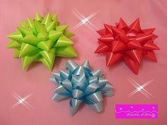 Moños Estrella para Regalos - YouTube