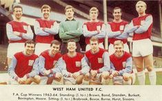 theyflysohigh website dedicated to collecting and recording West Ham United memorabilia from the formation of the club in 1895 West Ham United Fc, Football, Seasons, London, History, Note Cards, Soccer, Futbol, Historia