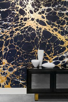 Spaces That Will Make You Fall In Love With Marble Wallpaper. Marble Wallpaper Inspiration is a part of our furniture design inspiration series. Designer Wallpaper, Decor, Wallpaper, Mural, Modern Wallpaper, Inspirational Wallpapers, Marble Wallpaper, Wall Wallpaper, Wall Design