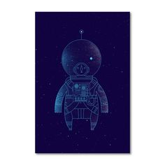 Find it at the Foundary - The Traveler Digital Print by Richard Perez
