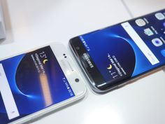 Samsung Galaxy S7 vs S7 Edge: first look read more here:http://www.registrycleaners2015.blogspot.com