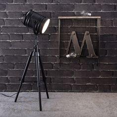 Brewton Tripod Spot Light  http://www.achica.com/product/MTR-5055299470060/brewton-tripod-spot-light/