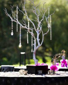 Guirlandes de perles de cristal