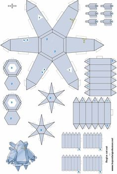Easy Pokemon Papercraft | Regice(colored) - /po/ Archives Easy Pokemon, Pokemon Craft, Pokemon Party, Cardboard Toys, Paper Toys, Holiday Crafts For Kids, Crafts To Do, Papercraft Pokemon, 8bit Art