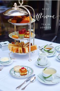 Best afternoon tea in London. London's Afternoon Teas: A Guide to the Most Exquisite Tea Venues in London.