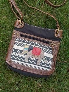 Elephant Hippie Crossbody purse on Mercari Hobo Handbags, Cross Body Handbags, College Bags, Hippie Bags, Market Bag, Cotton Bag, Shopping Bag, Elephant, Purses