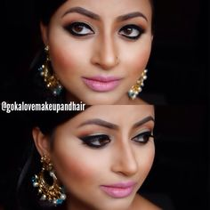 Makeup www.gokalove.com Check us out on Instagram @gokalove Boston Makeup Artist, Massachusetts, Boston Hairstylist, Indian Wedding, Pakistani Wedding Jewelry: Khanaks