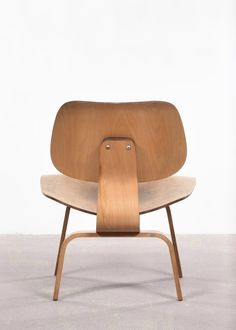 American LCW Oak Lounge Chair by Charles & Ray Eames for Herman Miller, 1950s