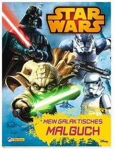 Star Wars: Mein galaktisches Malbuch