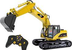 excavadoras rc y camiones