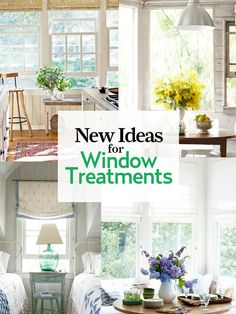 Shutters, curtains, drapes, shades, and more -- you're sure to find something new to love here!