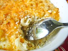Southern Mac 'n Cheese! This is part of what's for dinner tonight at our house