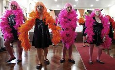 Beauty contest for elderly women, Sao Paulo