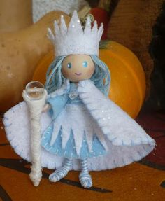 The Enchanted Tree: Winter Snow Queen Bendy Doll Giveaway