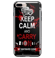 Keep Calm an Carry on Supernatural For iPhone 7 7+ 8 8+ X Hard Plastic Case #UnbrandedGeneric #Cheap #New #Best #Seller #Design #Custom #Gift #Birthday #Anniversary #Friend #Graduation #Family #Hot #Limited #Elegant #Luxury #Sport #Special #Hot #Rare #Cool #Top #Famous #Case #Cover #iPhone #iPhone8 #iPhone8Plus #iPhoneX
