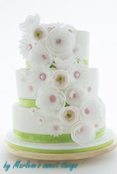 {Jahresr�ckblick: Teil I} Meine liebste Hochzeitstorte