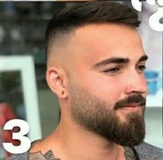 short beard styles 2018 new beard style 2018 True beardsmen understand an important point about growing facial hair – that choosing the right beard style for any man depends on a variety of. Trimmed Beard Styles, Faded Beard Styles, Beard Styles For Men, Hair And Beard Styles, Beards And Hair, Short Hair Styles Men, Beard Trimming Styles, Goatee Styles, Hot Beards