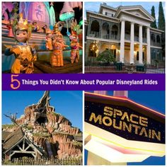 5 Things You Didnt Know About Disneyland's Most Popular Rides