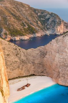 Navagio Beach in Greece - HarpersBAZAAR.com