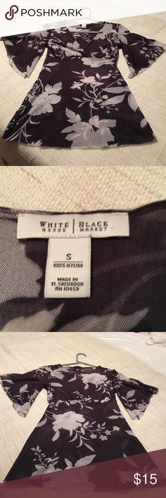 Blouse Adorable! Like new blouse. White House Black Market Tops Blouses