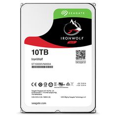 """Seagate 10TB Ironwolf 3.5"""" NAS Drive  (ST10000VN0004) 