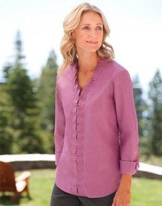 pretty #blouse for Women 50-60