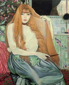 Louis ANQUETIN Woman Combing her Hair 1889