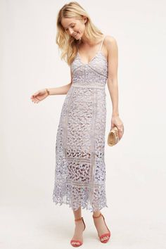 HD in Paris Celane Lace Dress: http://www.stylemepretty.com/2016/06/10/summer-wedding-guest-outfit-fashion-ideas/
