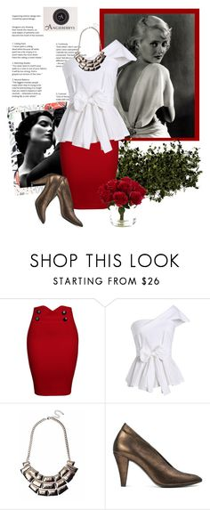 """""""Angieberrys"""" by sierraday ❤ liked on Polyvore featuring WithChic, H London and Nearly Natural"""