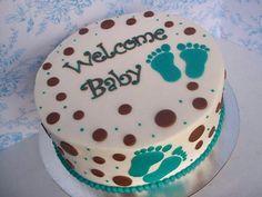 Cutest baby shower cake
