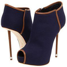 Giuseppe Zanotti Blue Open Toe Sandal Boots
