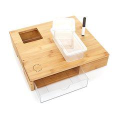 Curtis Stone Mini-Workbench Bamboo Cutting Board