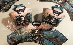 Maleficent cupcake wrappers