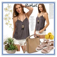 """""""Romwe 5"""" by aida-1999 ❤ liked on Polyvore featuring Pier 1 Imports"""